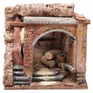 Maisons, milieux, ateliers, puits: Atelier du menuisier pour crèche 10 cm