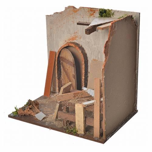 Atelier menuisier pour crèche 20x14x20 cm s3