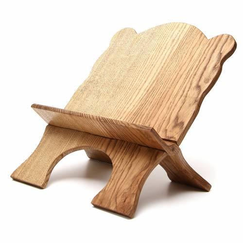 Atril de mesa madera de fresno simple Monjes de Belén s2