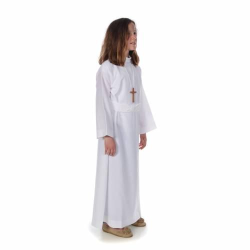 Aube communion fille avec flocon s2