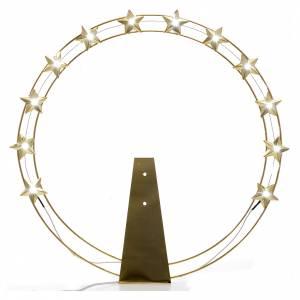 Aureola Estrella con LED en latón 40 cm s1