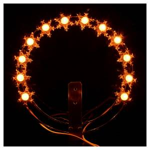 Aureola forma estrellas luminosa s4