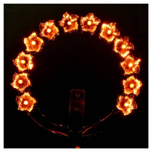 Aureola luminosa fiori s2