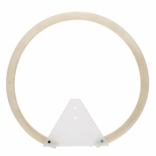 Aureola tubular plexiglás s3