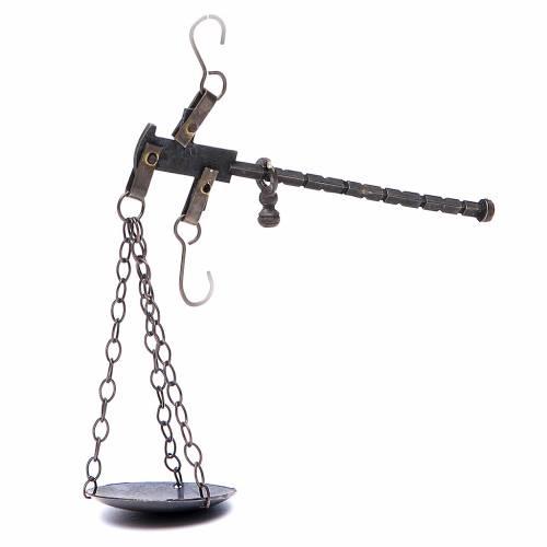 Balance crèche métal diam 4 cm s1