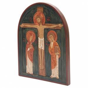 Bas-relief de la crucifixion du Christ, décoré s2