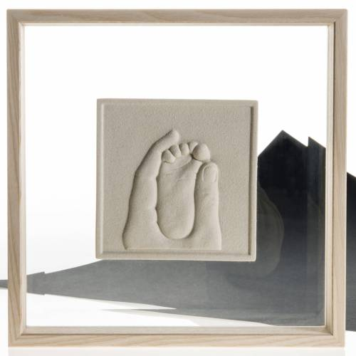 Bas-relief in porcelain gres and glass, Birth of Jesus s4