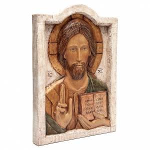 Bas reliefs en pierre: Bas-relief Jésus maître