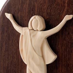 Bas relief Jésus Ressuscité Azur Loppiano s2