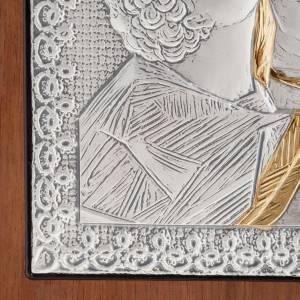 Bas-relief Vierge de la Tendresse argent or s3