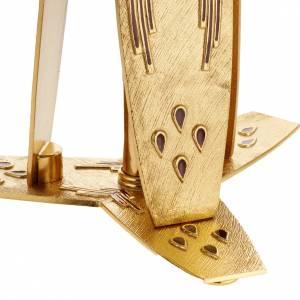 Vortragekreuze und Ständer: Basis fuer Prozessionskreuz mit Lack
