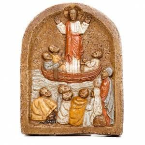 Bassorilievi pietra: Bassorilievo predicazione di Gesù