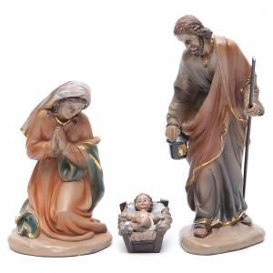 Belén resina y tela: Belén resina 20 cm 11 figuras estilo clásico