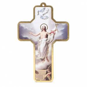 Benedizione delle Famiglie con croce pvc Resurrezione s1