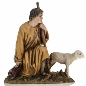 Santons crèche: Berger avec agneau 18 cm crèche Landi