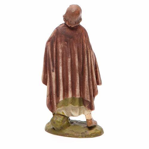 Berger émerveillé peint pour crèche 10 cm gamme économique Landi s2