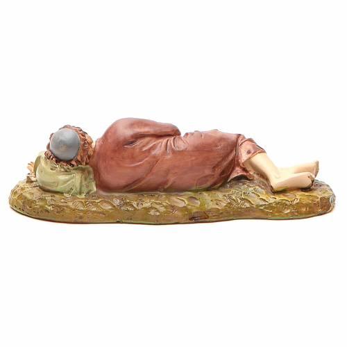 Berger endormi résine peinte 12 cm gamme économique Landi s2
