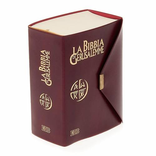 Biblia de Jerusalén de bolsillo LENGUA ITALIANA s1
