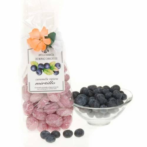 Blueberry sweets, gift pack 250gr, Camaldoli s1