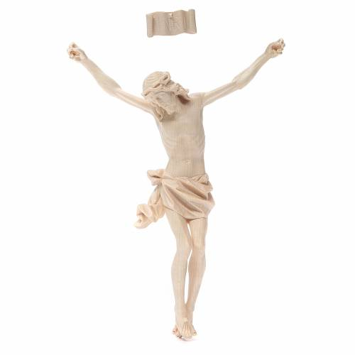 Body of Christ, Corpus model in natural wax Valgardena wood s1