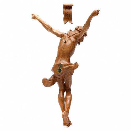 Body of Christ, Corpus model in patinated Valgardena wood s4