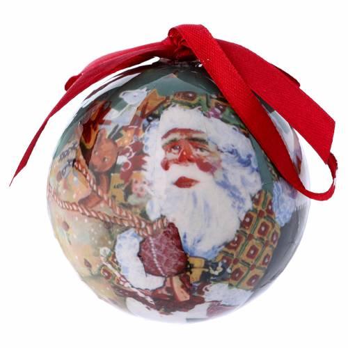 Bola Papá Noel y niños para Árbol caja 75 mm   venta online en HOLYART