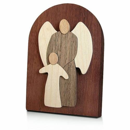 Bombonera madera ángel custodio s1