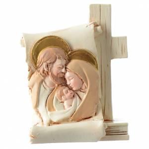 Bonbonnières: Bonbonnière Mariage parchemin Ste Famille 6x8 cm