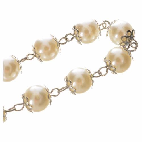 Bracciale decina simil perla s3