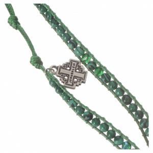 Bracelet chapelet malachite 4mm s2