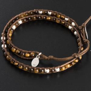 Bracelet chapelet oeil de tigre 4mm s3