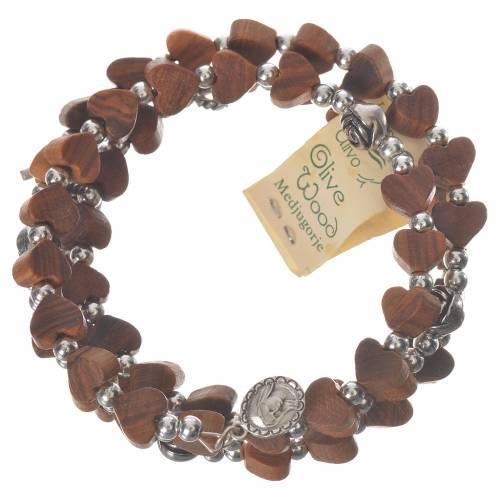 Bracelet Medjugorje ressort olivier s4