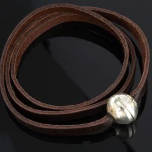 Bracelets divers: Bracelet Medjugorje sphère long. 52 cm