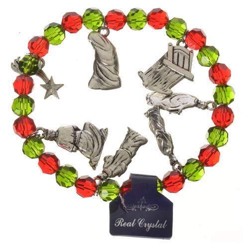 Bracelet Noël Cristal 7 mm s1