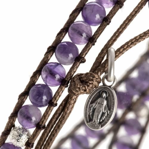 Bracelet religieux améthyste 4mm s2