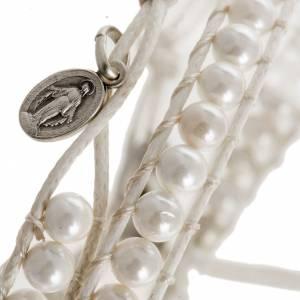 Bracelet religieux en nacre 4mm s2