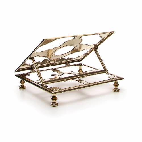 Brass book-stand s3