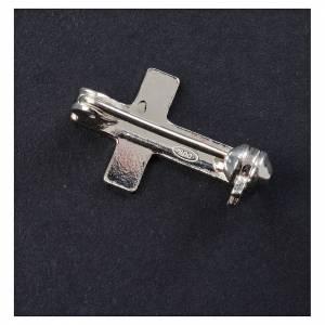 Broche clergyman clásica plata de ley s3