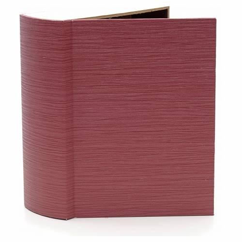 Burgo iluminado con arco forma libro de 24x19x8cm s2