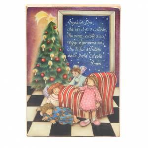 Cadre Ange gardien Noël ITA s1