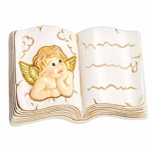 Calamita libro  Angelo 5 cm s1
