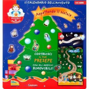 Calendriers et Livres religieux: Calendrier de l'avent, construisez la crèche ITALIEN