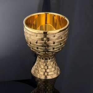 Calice ciboire patène Molina laiton doré s6