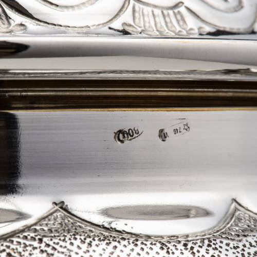 Calice e pisside argento 800 mod. Regolo s5