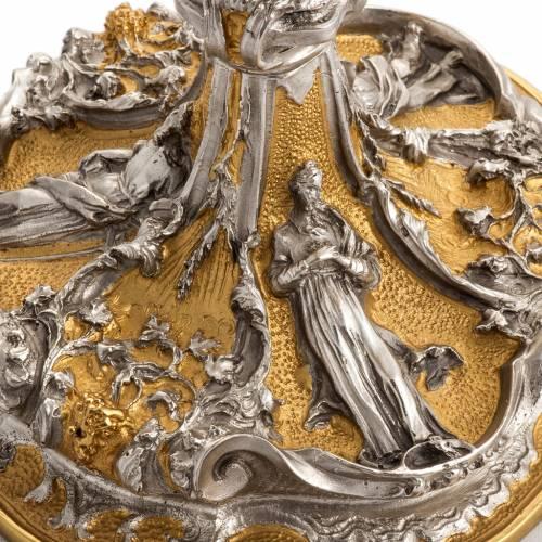 Calice et ciboire en bronze s6