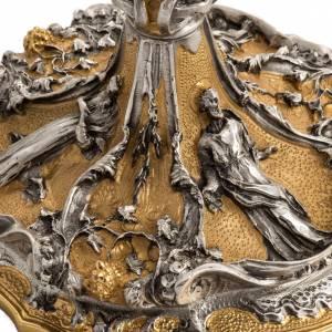 Calice et ciboire en bronze s3