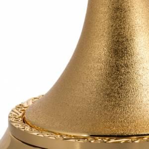 Calice ottone dorato zigrinato s5