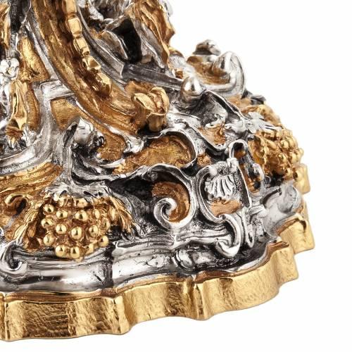 Cáliz plata y Copón dorado y plateado natividad s9