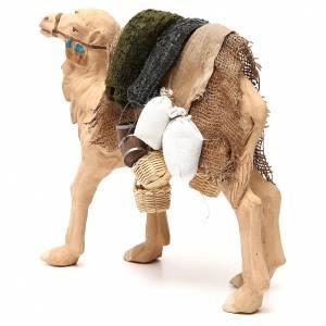 Camel with harness 24cm Neapolitan Nativity Scene s2