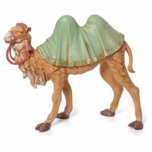 Animali presepe: Cammello in piedi 30 cm pvc Fontanini